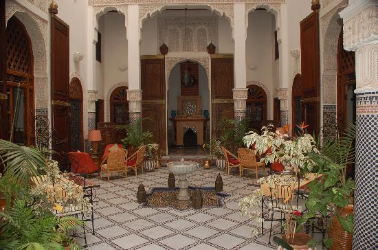 sejour vacances au maroc riad a f s m dina. Black Bedroom Furniture Sets. Home Design Ideas