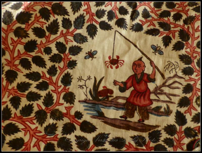 XVIIIth century Persian Toile de Jouy