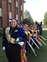 Marching Knights Perform at Troy Marching Band Festival 2