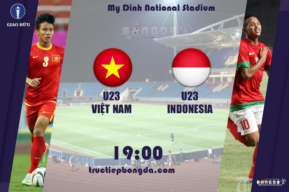Olympic Việt Nam – Olympic Indonesia: Thử nghiệm của HLV Miura