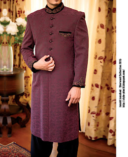 jjsw-539-maroon-sherwani-collection-2015-by-junaid-jamshed
