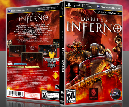 Free download full version Dantes Inferno PSP ISO Download Highly Compressed.
