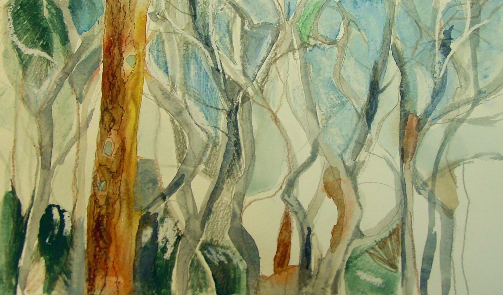 Invierno en el pinar