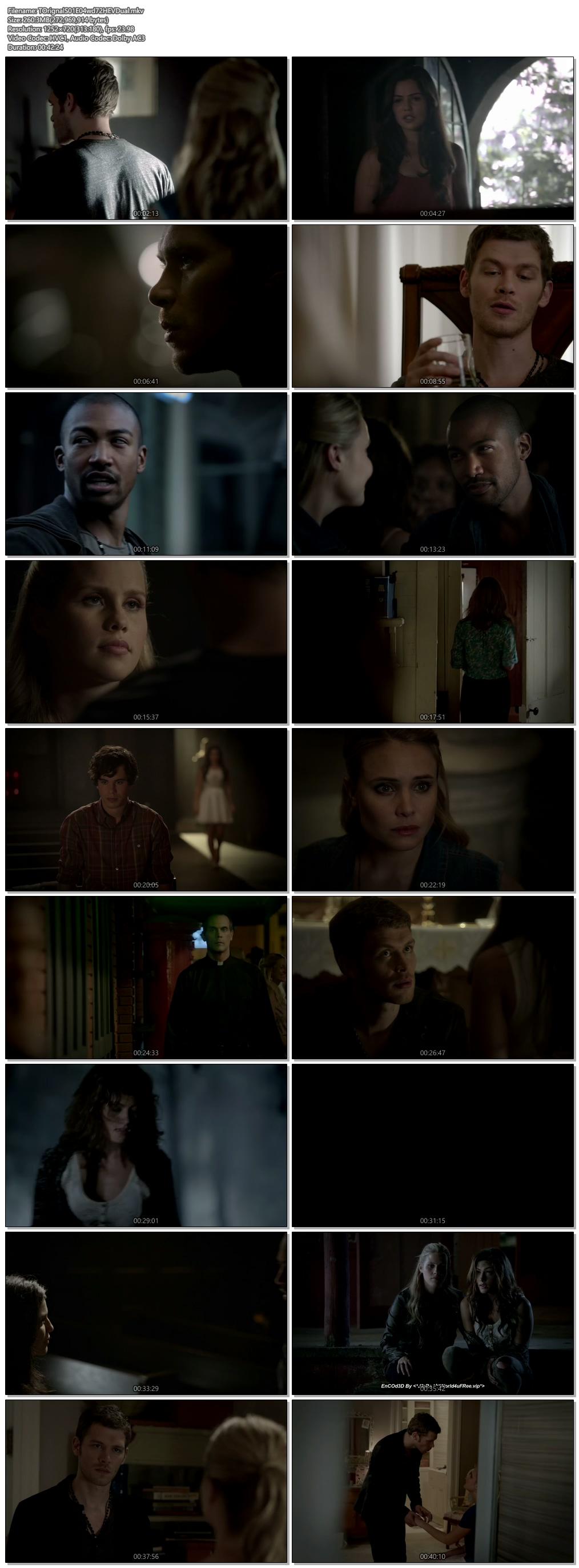 Screenshots Of Hindi Dubbed Show The Originals 2013 Season 01 Episode 04 300MB 720P HD