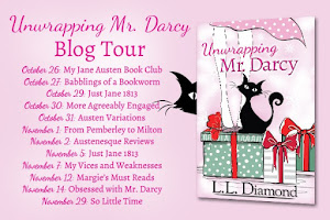 Unwrapping Mr Darcy by L L Diamond - Blog Tour