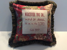Col. 3:17 - Red Floral (plaid back)