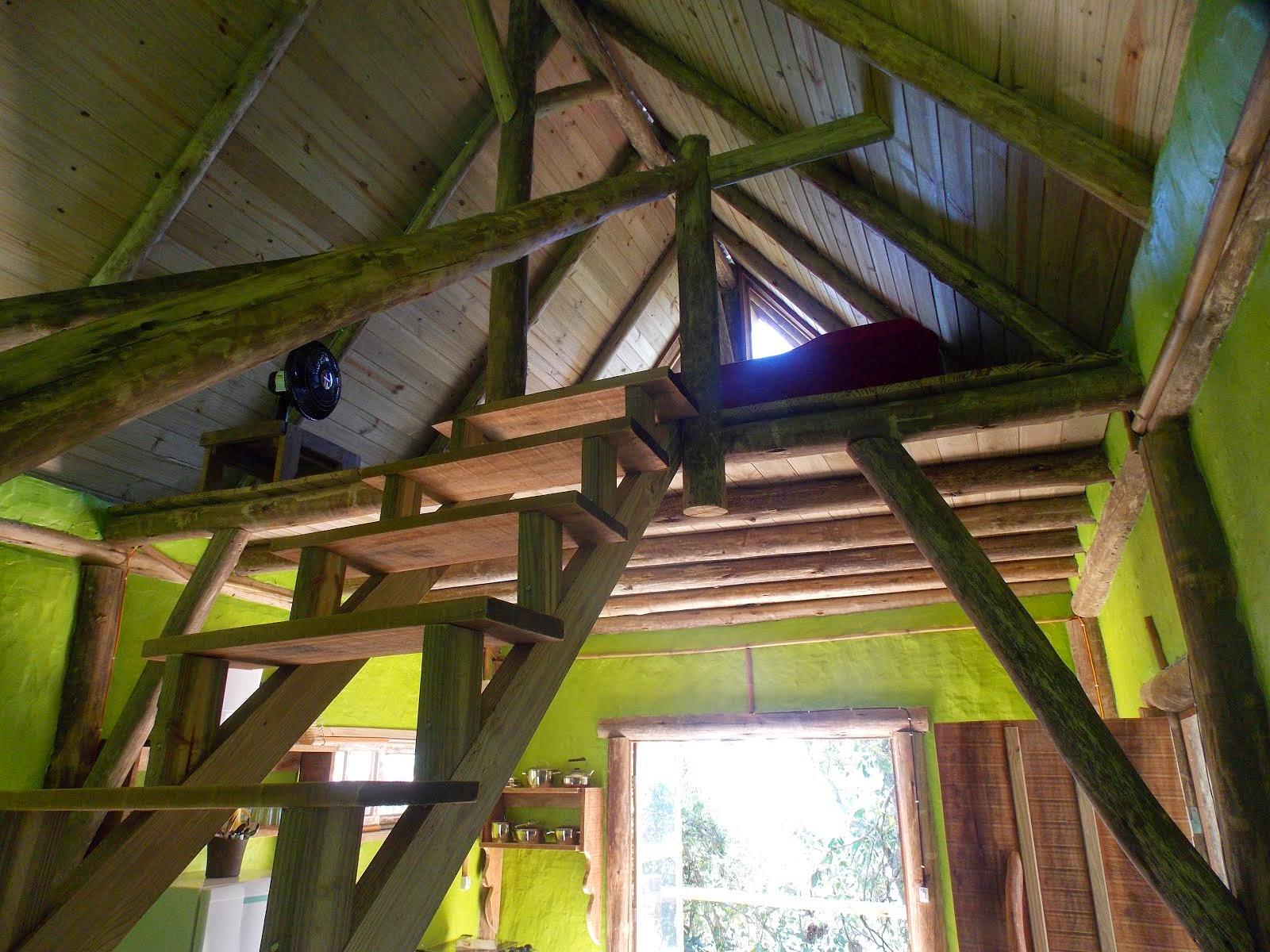 Escada quarto cabana 10