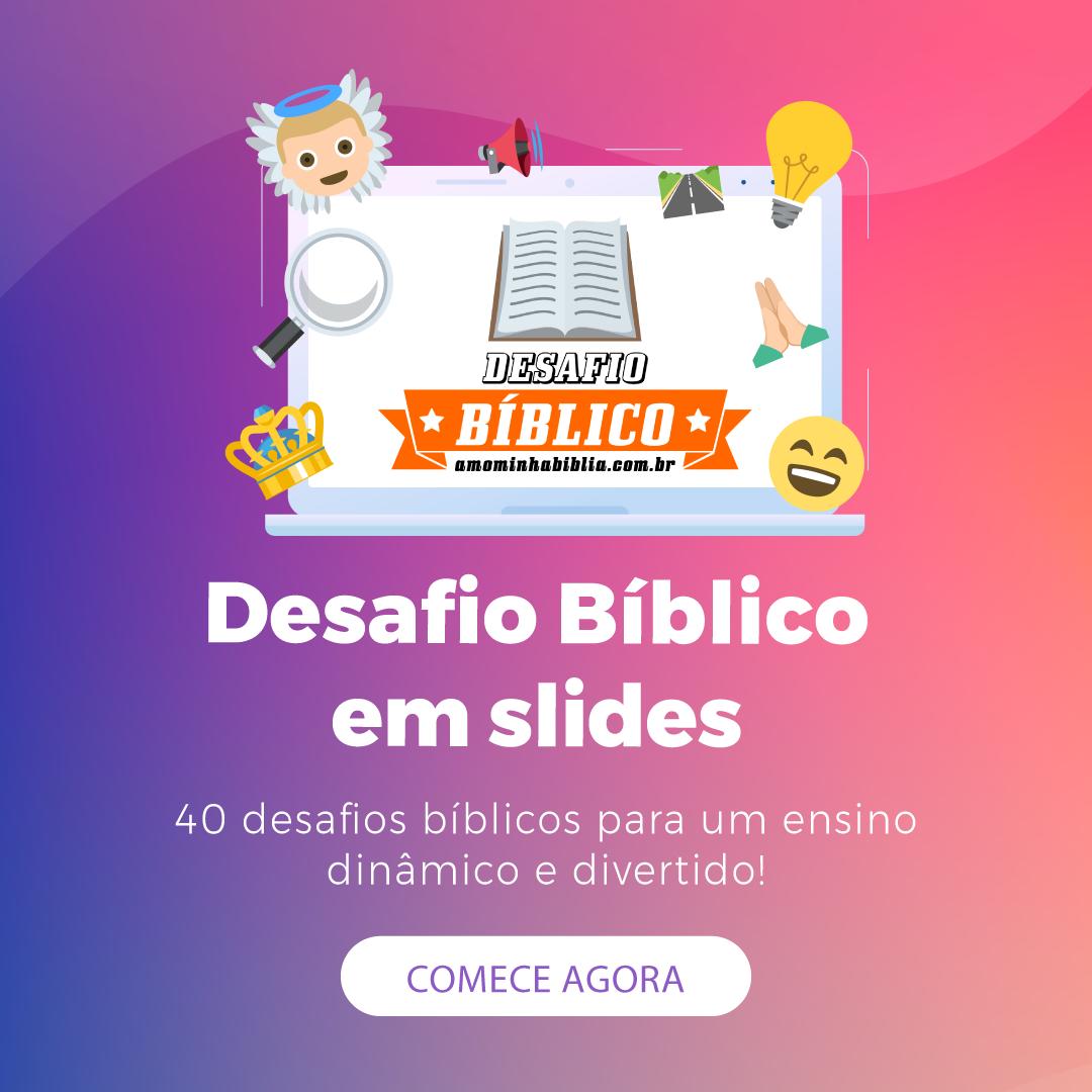 Desafio Bíblico - Recurso Digital