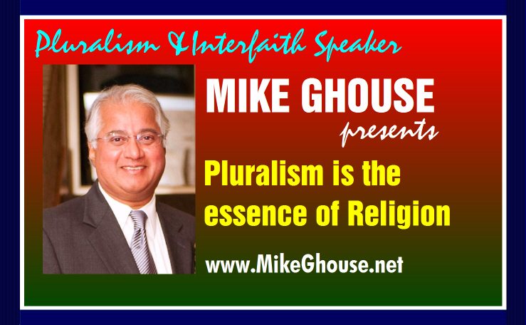 Pluralism is essence of Religion