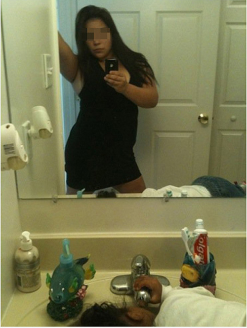 picture in the mirror fail
