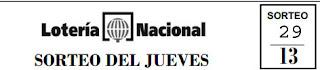 Hoy se celebra el sorteo 29 de la Lotería Nacional