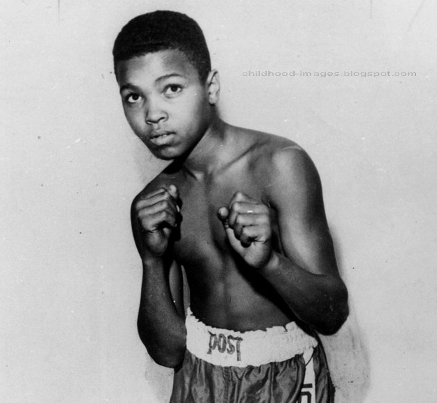 boxer muhammad ali mini biography and childhood picturesYoung Muhammad Ali Boxing