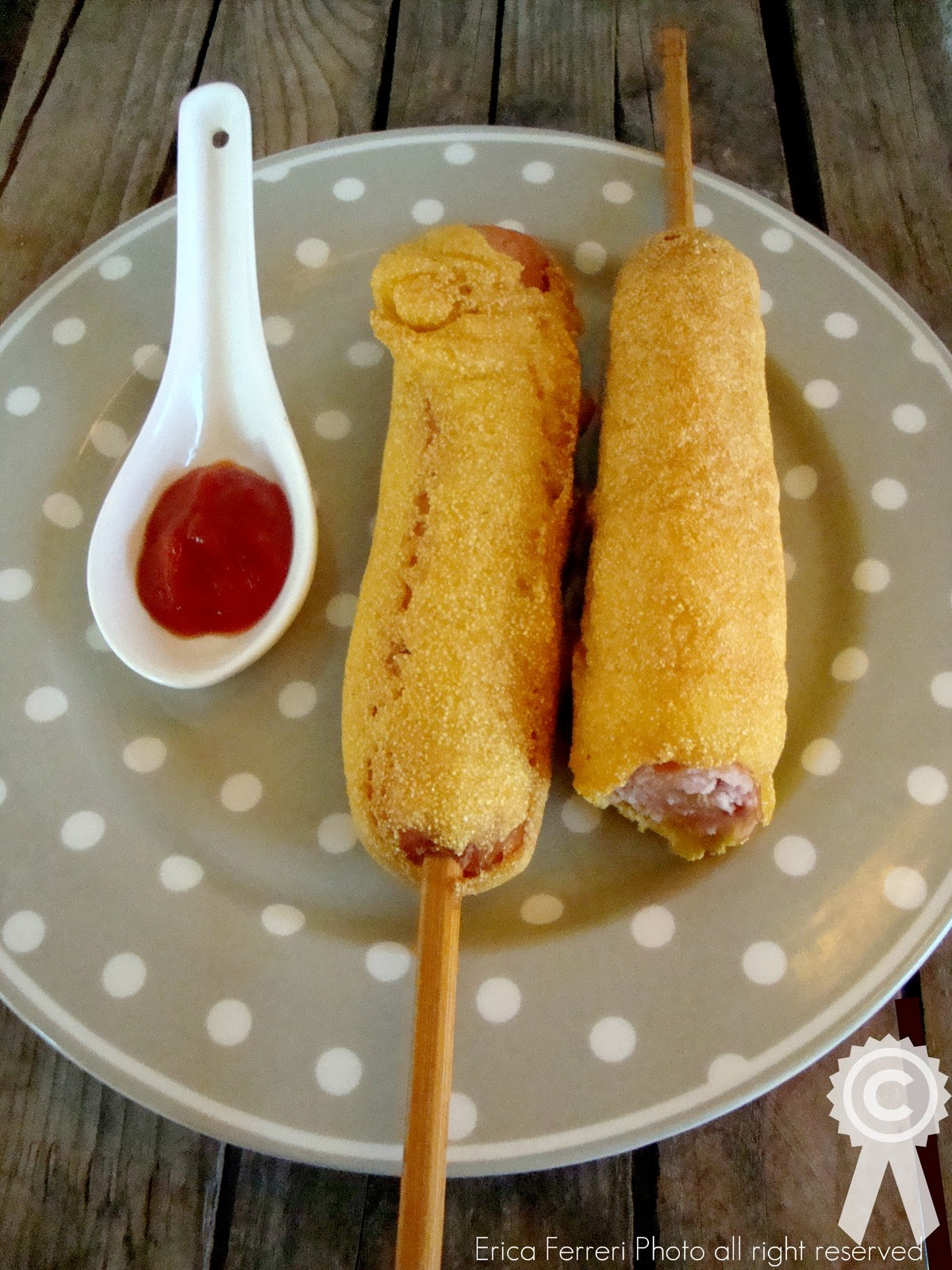 dog on a loved corn dog at hot dog on a stick in santa monica ca hot ...