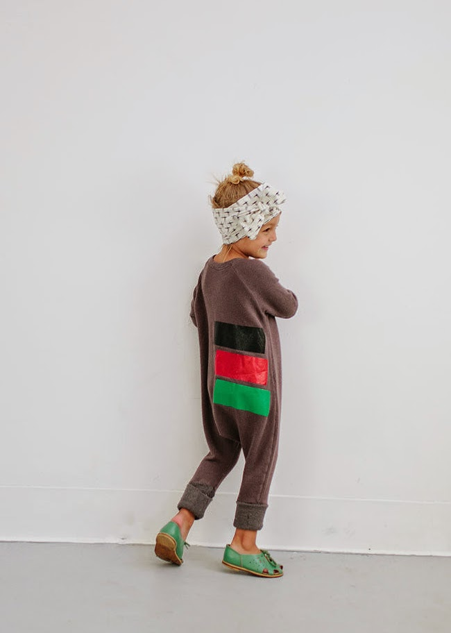 Cool jumpsuit for kids by Duchess and Lion - Made in the USA