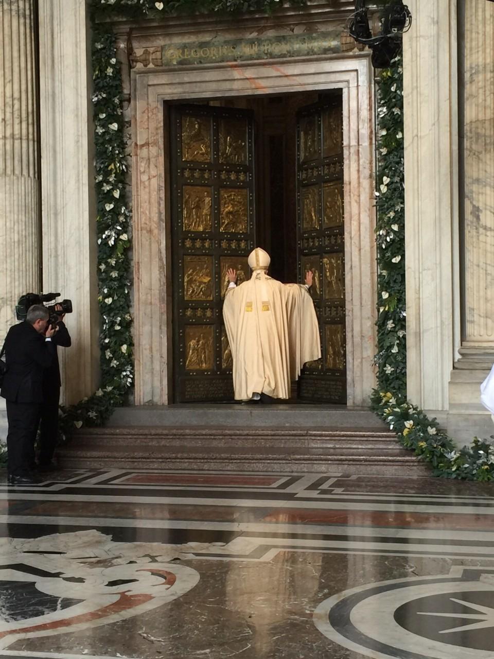 Homilia do Papa Francisco na Abertura da Porta Santa