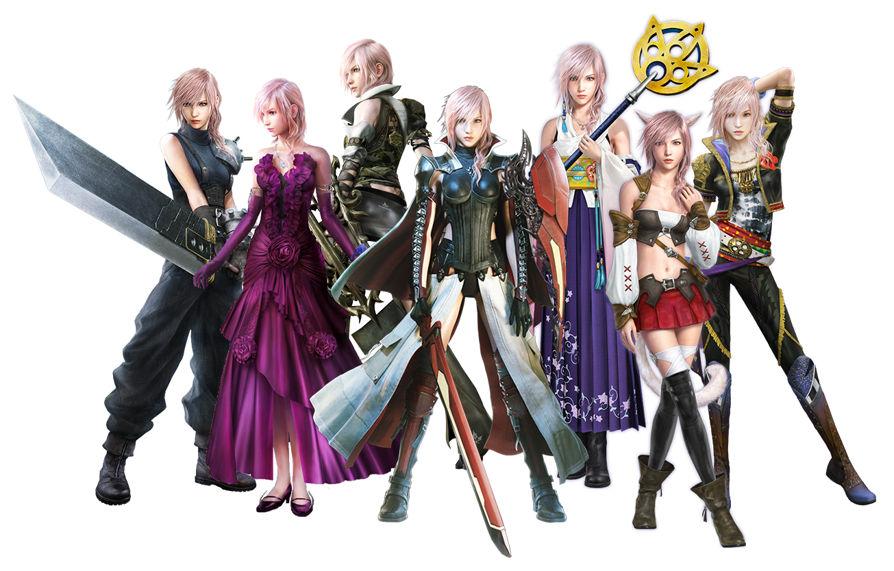 Final fantasy xiii lightning returns costumes - photo#1