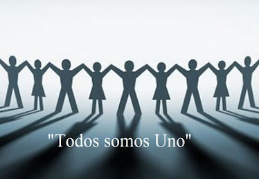 TODOS SOMOS UNO. In lak´ech!. Wir sind alle Eins. We come together as One. Sommes tous Un.