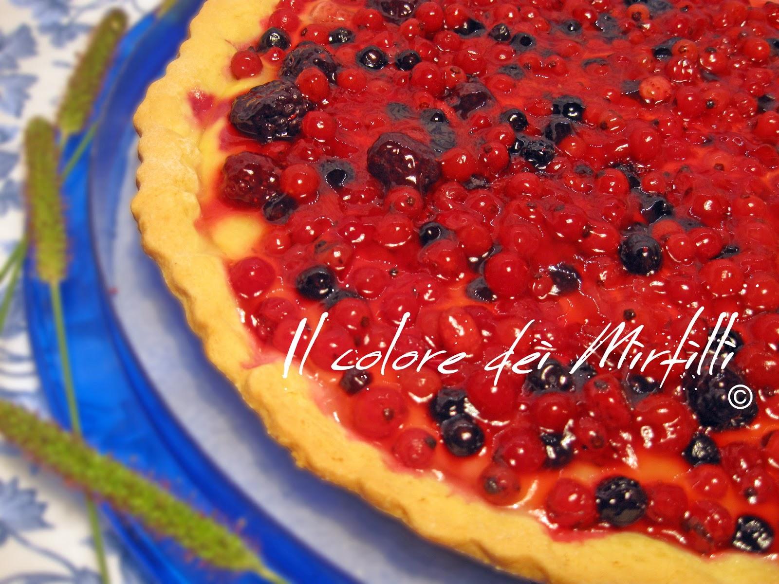 crostata ai frutti di bosco, crostata, frutti di bosco, dolci, ricette, torta