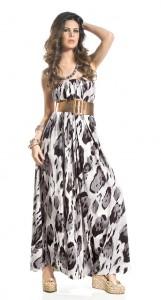 modelo de vestido longo estampado - fotos e dicas