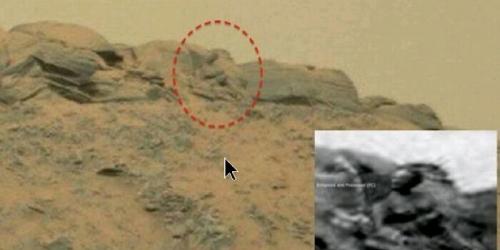 Patung Budha Ditemukan Di Mars