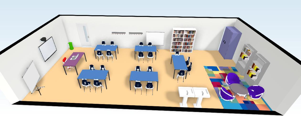 El rinc n de alba presentaci n clase de rdt for Plano aula educacion infantil