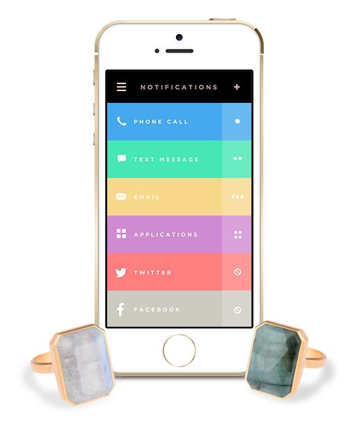 Ringly es el nombre del nuevo anillo inteligente para iPhone
