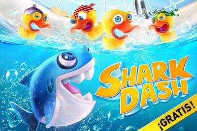shark dash 0001 Shark Dash, los tiburones contra los patos en este juego gratuito para iPhone
