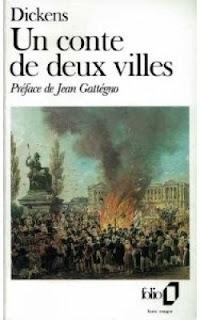 Le conte de deux cités, villes, Charles Dickens, Paris 1793