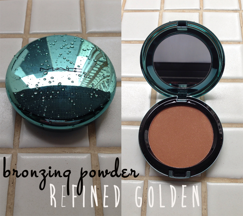 Bronzing powder refined golden mac collection alluring aquatic - blog Mamãe de Salto