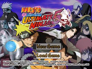 Naruto Shippuden Ultimate Ninja 5-Free Download PC Games-Full Version