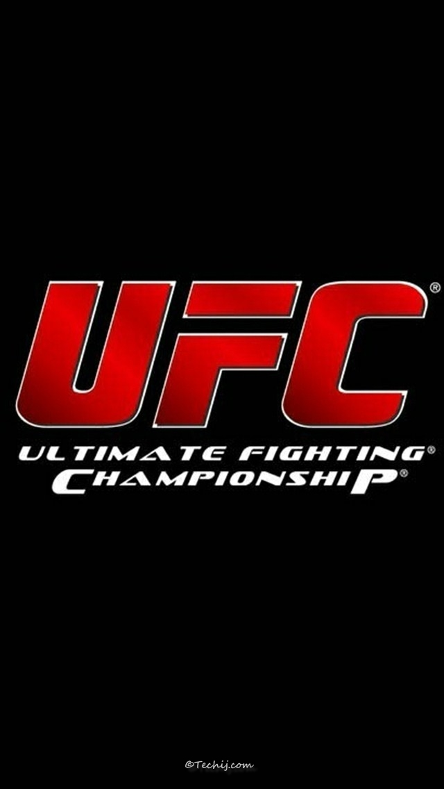 ufc logo wallpapers hd-iphone 5