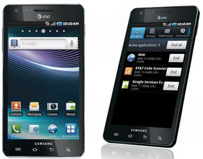 new Samsung Infuse 4G