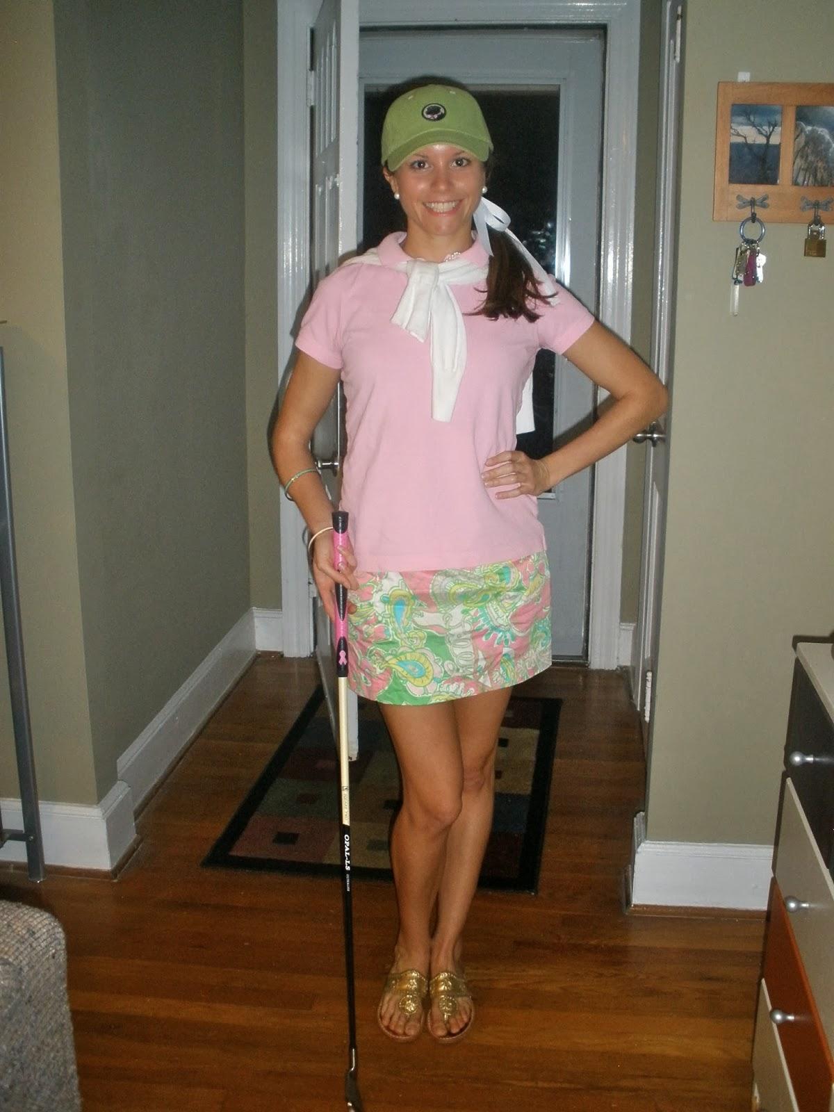 Golfer Halloween Costume