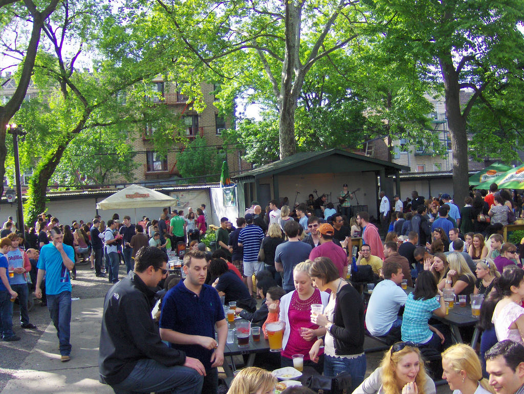 The Nyc Big Adventure Best Outdoor Drinking In New York City This Spring It Is Definitely The