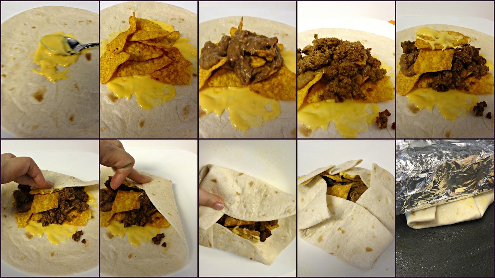 Fast food fixation homemade doritos crunch wrap homemade doritos crunch wrap pooptronica
