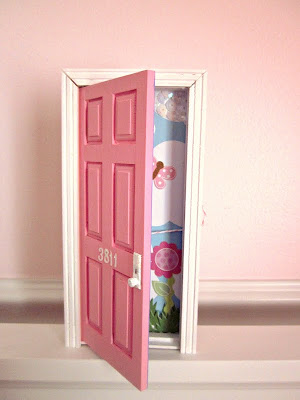 Embellishing life tooth fairy visit for Tooth fairy door ideas