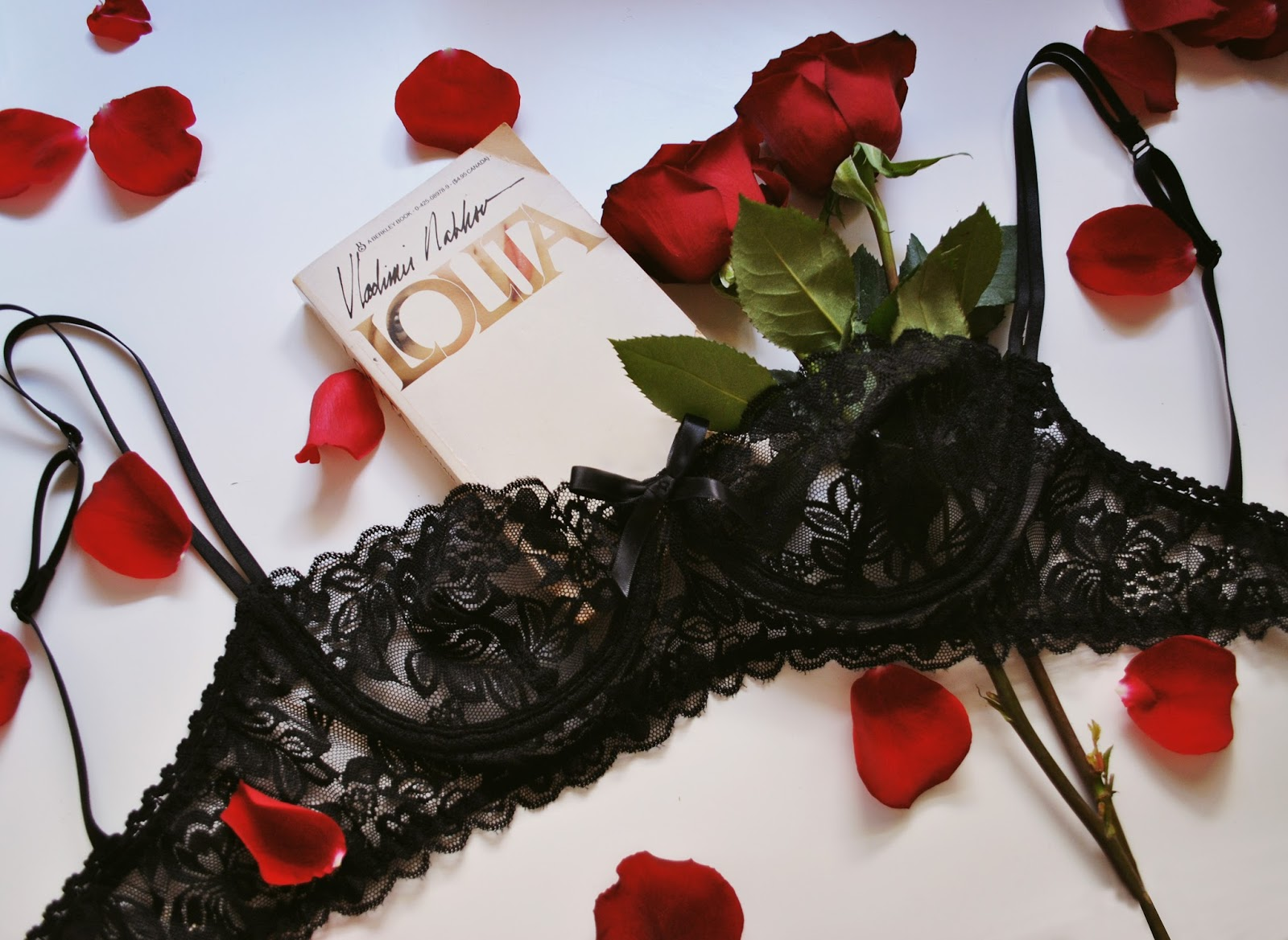 Crimson Lace Balconette Bra