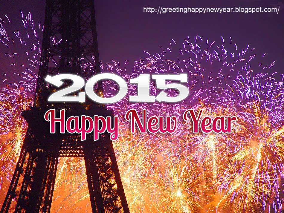 Happy New Year 2015 Fireworks HD Cards - Latest Free Download