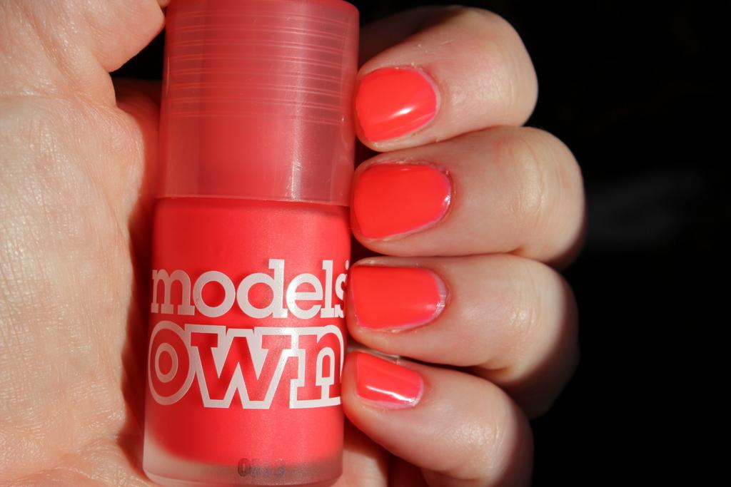 Models Own Pink Punch, Free Shipping at Nail Polish Canada