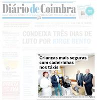 Capa do Diário de Coimbra