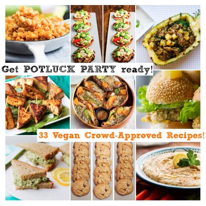 33 Potluck Perfect Vegan Dishes