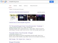 Keyword tentang template blog keren hari ini