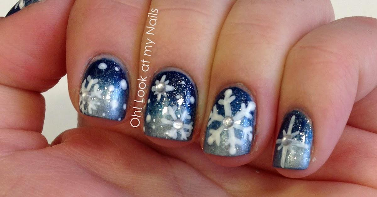 nails snowflake