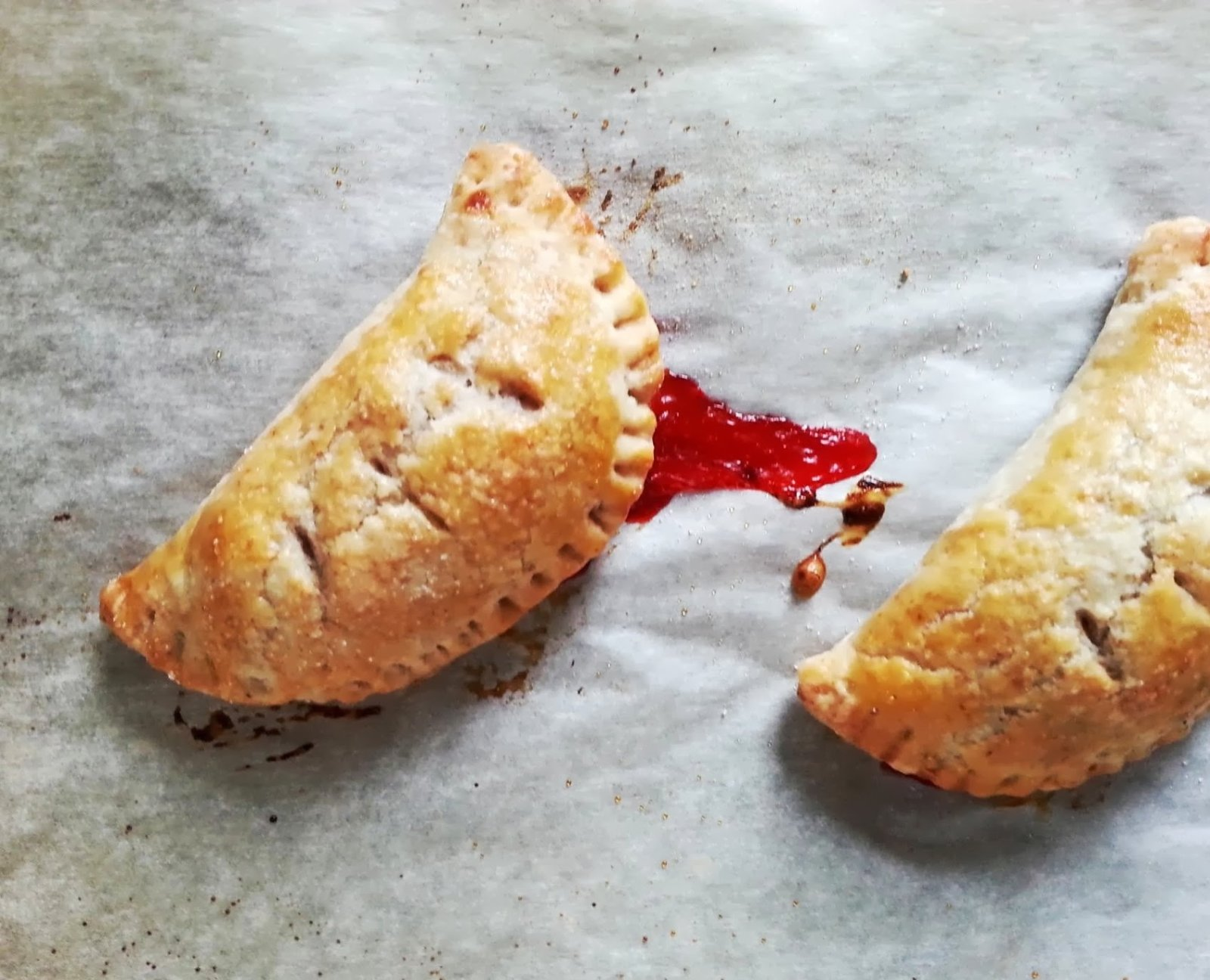 Badger Kitchen: Strawberry-Rhubarb Hand Pies with a Rye Crust