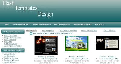Download desain situs flash