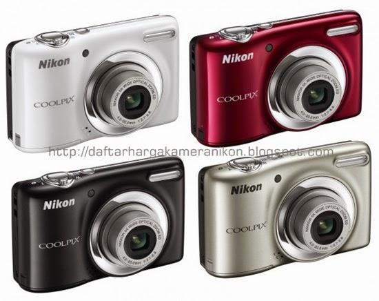 Harga dan Spesifikasi Kamera Nikon Coolpix L25