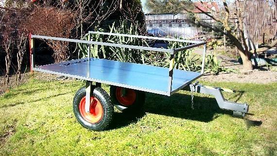 Platforma ogrodnicza do traktorka kosiarki