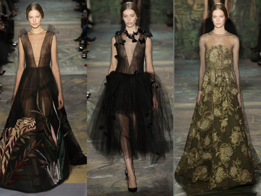 valentino spring 2014 dark princess looks