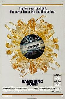 Vanishing Point (1971) Barry Newman, Cleavon Little RARE
