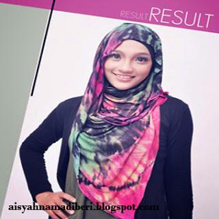 Cara Memakai Jilbab Kreasi Jilbab Pashmina Tie Dye